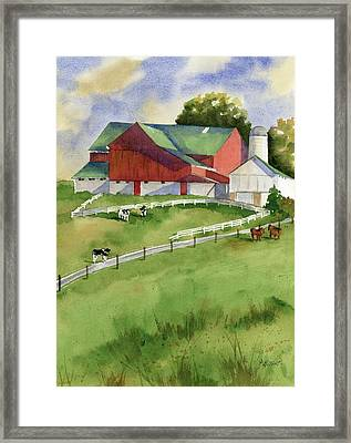 Country Framed Print