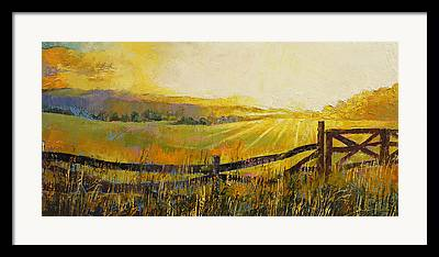 Granja Framed Prints