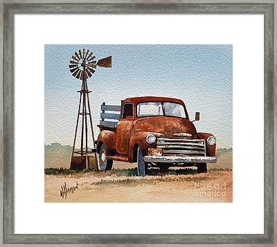 Country Memories Framed Print by James Williamson