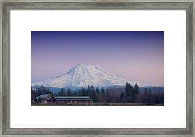 Country Moutain Framed Print