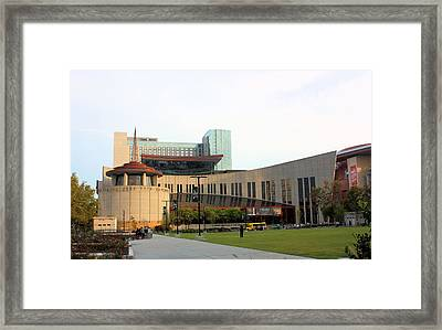 Country Music Hall Of Fame Framed Print