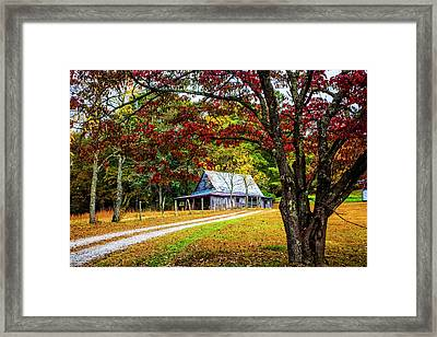 Country Paths Framed Print