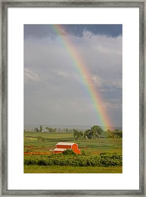 Country Rainbow Framed Print by James BO  Insogna