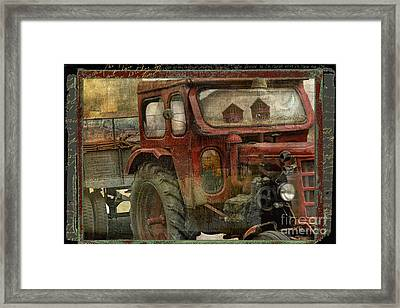Country Reflections Framed Print by Mindy Sommers