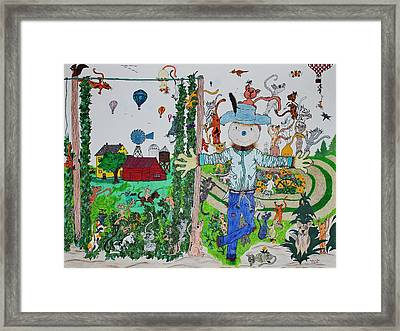 Country Rendezvous Framed Print