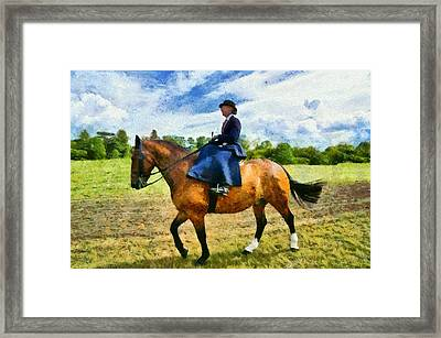 Framed Print featuring the photograph Country Ride by Scott Carruthers