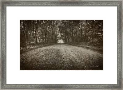 Country Road Framed Print by Everet Regal
