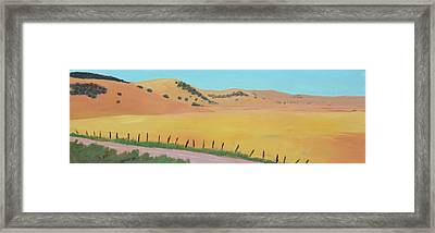 Country Road Framed Print by Gary Coleman