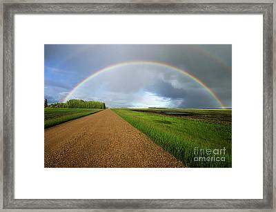 Country Road Take Me Home 2 Framed Print