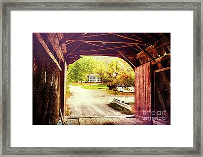 Country Road Take Me Home Framed Print by George Oze