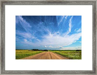 Country Roads IIi Framed Print by Ian McGregor