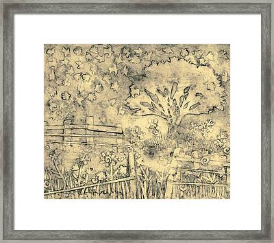 Country Roads Framed Print by Ruth Egnater