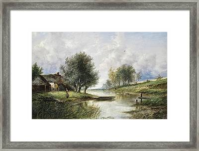 Country Scene Framed Print by MotionAge Designs