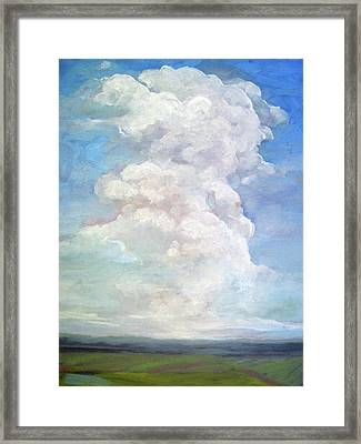 Country Sky - Painting Framed Print