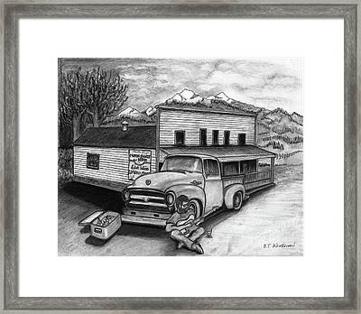 Country Store Framed Print by Bruce Workman