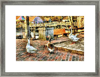 Country Store  Framed Print by Geraldine Scull