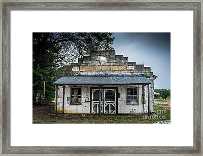 Country Store In The Mississippi Delta Framed Print by T Lowry Wilson