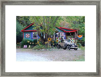 Country Store  Framed Print by Kathy Gibbons