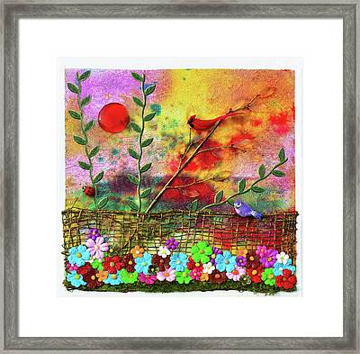Country Sunrise Framed Print by Donna Blackhall