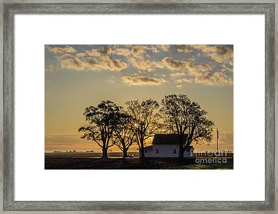 Country Time Legion Framed Print