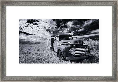 Country Truck Framed Print by Ian MacDonald