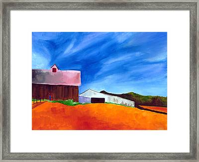 Countryside Framed Print by Dawnstarstudios