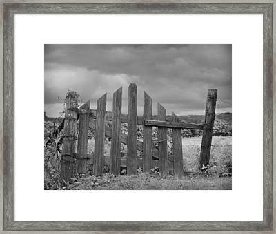 Countryside Framed Print by Steven Michael