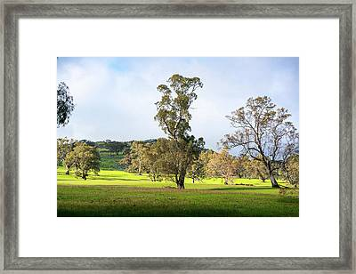 Countryside Victoria Australia Framed Print