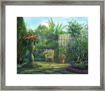County Contrasts Framed Print by Michael Humphries