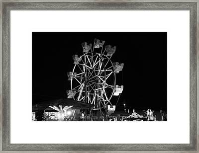 County Fair Fun Framed Print