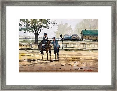 County Fair Memories Framed Print