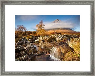 Coupall Falls Glencoe Framed Print