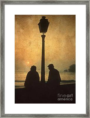 Couple Framed Print by Bernard Jaubert