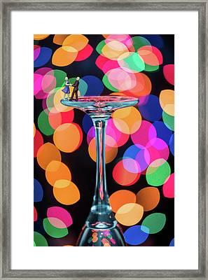 Couple Dancing Framed Print