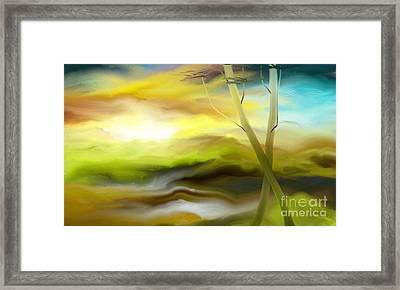 Couple Framed Print by Rushan Ruzaick