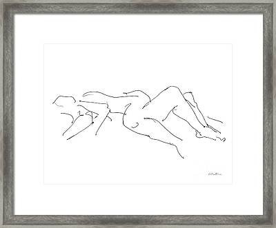 Couples Erotic Art 4 Framed Print by Gordon Punt