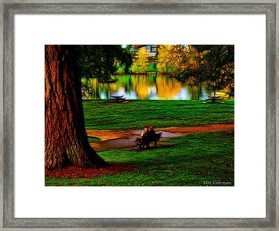 Couple's Therapy Framed Print