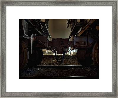Coupling Framed Print
