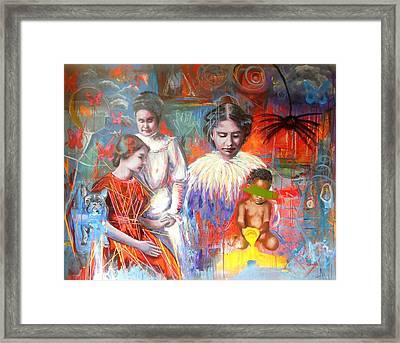 Courage- Large Work Framed Print