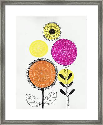 Courage Framed Print by Lisa Noneman