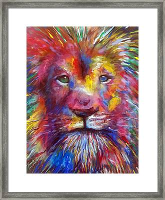 Courage...  Framed Print by Mark Tonelli