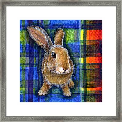 Framed Print featuring the painting Courage by Retta Stephenson