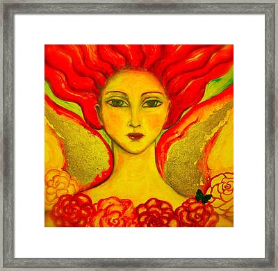 Courage Framed Print by Shoshanna Lightsmith