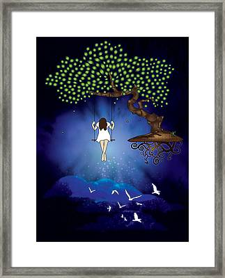 Dreamscape Framed Print by Serena King