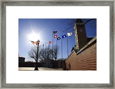 Court Building Framed Print by Nathan Grisham