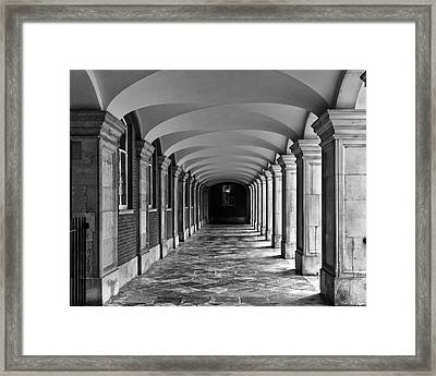 Court Cloister Framed Print