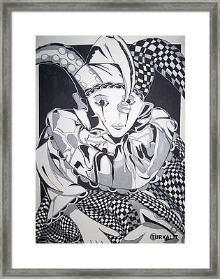 Court Jester Framed Print