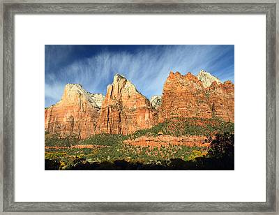 Court Of The Patriarch In Zion Framed Print by Pierre Leclerc Photography