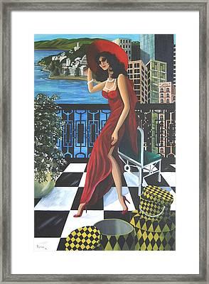 Courtenay Framed Print by Rosie Harper