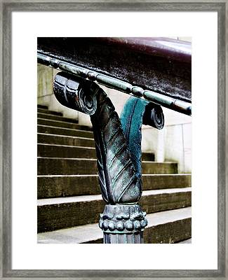 Courthouse Beauty Framed Print by Cathie Tyler